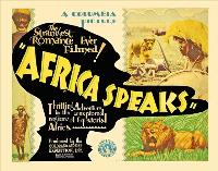 Africa Speaks! - 27 x 40 Movie Poster - Style B