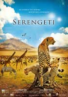 Africa: The Serengeti - 11 x 17 Movie Poster - German Style A