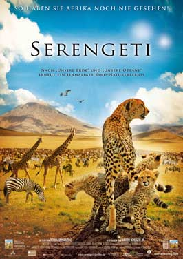 Africa: The Serengeti - 43 x 62 Movie Poster - German Style A