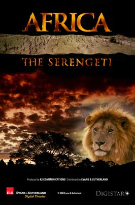 Africa: The Serengeti - 11 x 17 Movie Poster - Style A