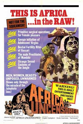 Africa Uncensored - 11 x 17 Movie Poster - Style A