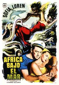 Africa Under the Seas - 11 x 17 Movie Poster - Spanish Style A