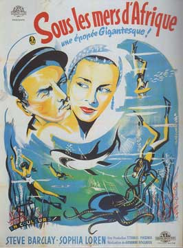 Africa Under the Seas - 11 x 17 Movie Poster - French Style A