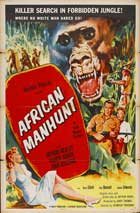 African Manhunt - 27 x 40 Movie Poster - Style A