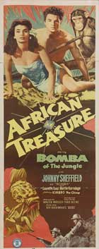 African Treasure - 14 x 36 Movie Poster - Insert Style A