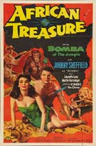 African Treasure - 11 x 17 Movie Poster - Style A