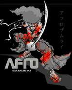 Afro Samurai - 11 x 17 Movie Poster - Style B