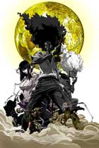 Afro Samurai - 27 x 40 Movie Poster - Style C