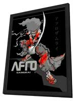 Afro Samurai - 11 x 17 Movie Poster - Style B - in Deluxe Wood Frame
