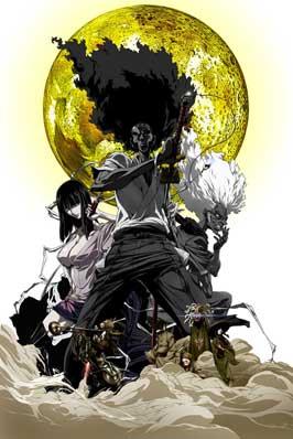 Afro Samurai - 11 x 17 Movie Poster - Style C