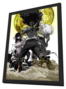 Afro Samurai: Resurrection - 11 x 17 Movie Poster - Style A - in Deluxe Wood Frame