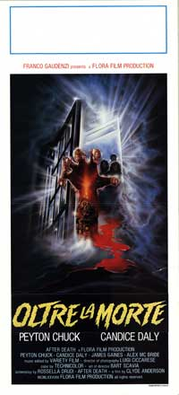 After Death - 13 x 28 Movie Poster - Italian Style A