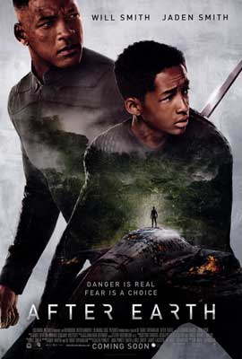 After Earth - DS 1 Sheet Movie Poster - Style B