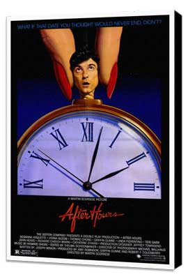 After Hours - 27 x 40 Movie Poster - Style A - Museum Wrapped Canvas