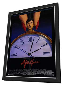 After Hours - 11 x 17 Movie Poster - Style A - in Deluxe Wood Frame