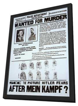 After Mein Kampf - 11 x 17 Movie Poster - Style A - in Deluxe Wood Frame