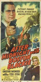 After Midnight with Boston Blackie - 11 x 17 Movie Poster - Style A