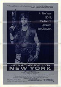 After the Fall of New York - 11 x 17 Movie Poster - Style A