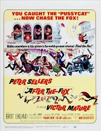 After the Fox - 27 x 40 Movie Poster - Style C