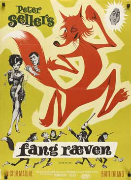 After the Fox - 27 x 40 Movie Poster - Danish Style A