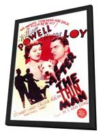 After the Thin Man - 11 x 17 Movie Poster - Style A - in Deluxe Wood Frame