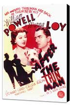 After the Thin Man - 11 x 17 Movie Poster - Style A - Museum Wrapped Canvas