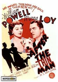 After the Thin Man - 43 x 62 Movie Poster - Bus Shelter Style A