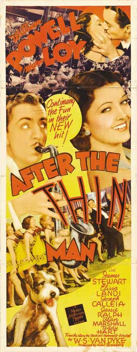 After the Thin Man - 14 x 36 Movie Poster - Insert Style A