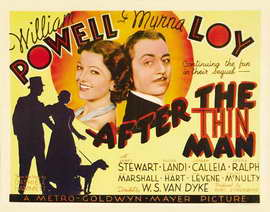 After the Thin Man - 22 x 28 Movie Poster - Half Sheet Style A