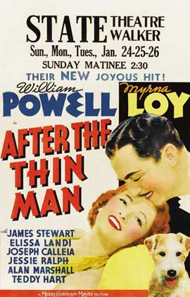 After the Thin Man - 27 x 40 Movie Poster - Style B
