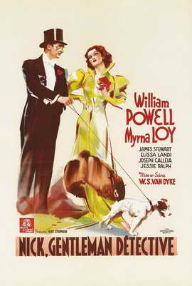 After the Thin Man - 27 x 40 Movie Poster - German Style A