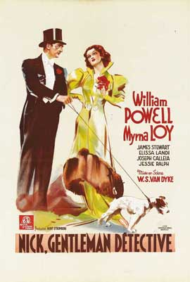 After the Thin Man - 11 x 17 Movie Poster - Belgian Style A