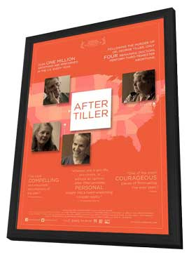 After Tiller - 11 x 17 Movie Poster - Style A - in Deluxe Wood Frame