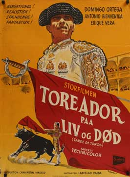 Afternoon of the Bulls - 11 x 17 Movie Poster - Danish Style A