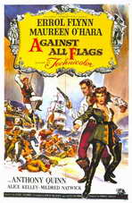 Against All Flags - 11 x 17 Movie Poster - Style A