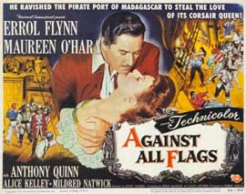 Against All Flags - 11 x 14 Movie Poster - Style A