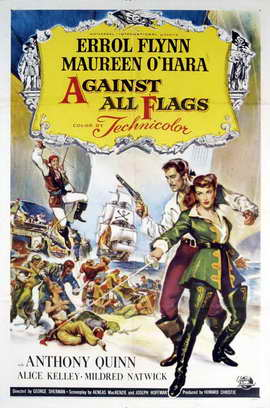 Against All Flags - 27 x 40 Movie Poster - Style A