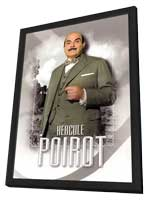 Agatha Christie: Poirot (TV) - 27 x 40 TV Poster - Style B - in Deluxe Wood Frame