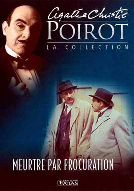 Agatha Christie: Poirot (TV) - 11 x 17 TV Poster - French Style B