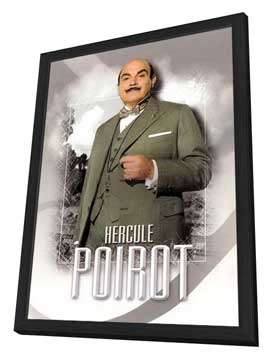 Agatha Christie: Poirot (TV) - 11 x 17 TV Poster - Style B - in Deluxe Wood Frame