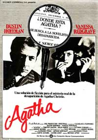 Agatha - 11 x 17 Movie Poster - Spanish Style A
