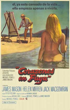 Age of Consent - 11 x 17 Movie Poster - Spanish Style A