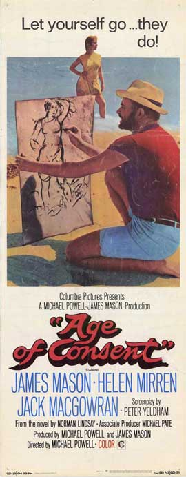 Age of Consent - 14 x 36 Movie Poster - Insert Style A