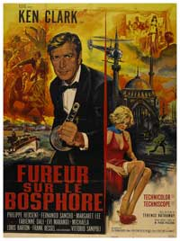 Agent 077 Fury in the Orient - 11 x 17 Movie Poster - French Style A