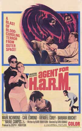 Agent for HARM - 11 x 17 Movie Poster - Style A