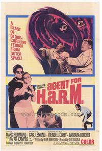 Agent for HARM - 27 x 40 Movie Poster - Style A