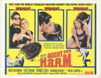 Agent for HARM - 22 x 28 Movie Poster - Half Sheet Style A
