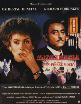 Agent trouble - 11 x 17 Movie Poster - French Style A