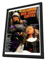 Aguirre, the Wrath of God - 27 x 40 Movie Poster - German Style A - in Deluxe Wood Frame