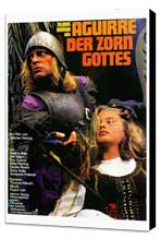 Aguirre, the Wrath of God - 27 x 40 Movie Poster - German Style A - Museum Wrapped Canvas